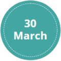 30-March